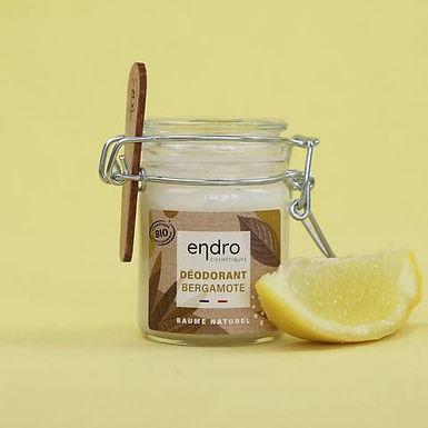 Déodorant solide bio - Bergamote 50 ml - Endro