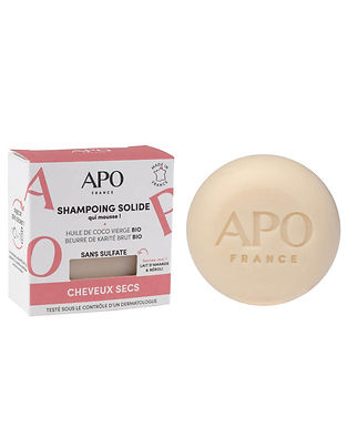 Shampoing solide APO - Cheveux secs 75g