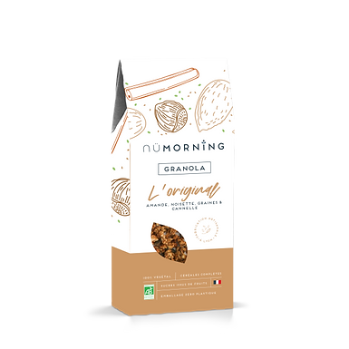 Granola bio - L'Original - Nü Morning