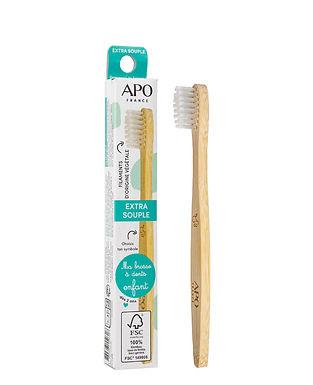 Brosse à dents en Bambou pour ENFANT