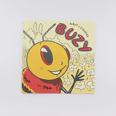 Album à colorier Buzy