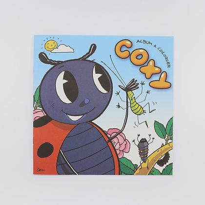 Album à colorier Coxy