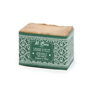 Véritable savon d'Alep Olive et 20% Laurier 200 g - Al Bara