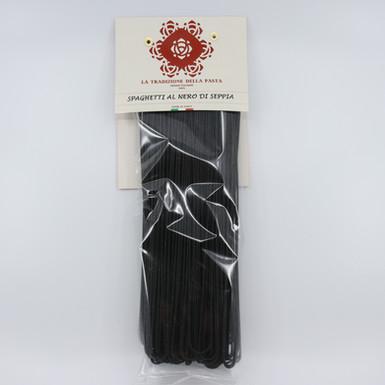 Pâtes longues - Spaghetti al nero di Seppia
