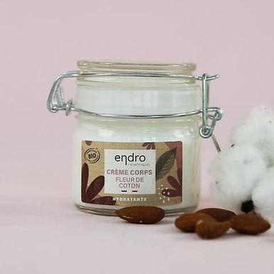 Crème corps hydratante - Fleur de Coton - 100 ml - Endro