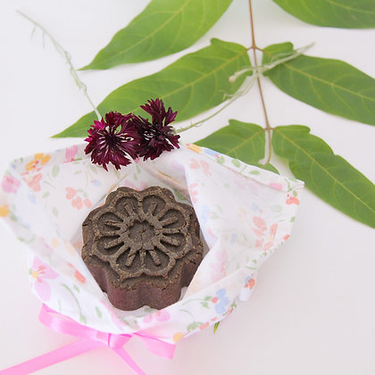 Ensemble cadeau : Pochon Azuma Bukuro + 1 shampoing solide - Druydès