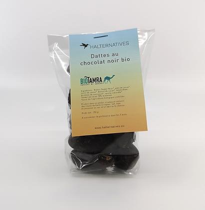 Dattes enrobées de chocolat noir bio 150 g - BioTamra