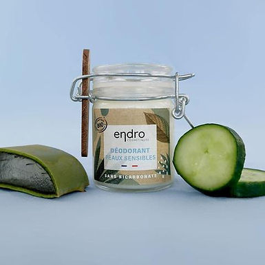 Déodorant solide bio - Peaux Sensibles 50 ml - Endro