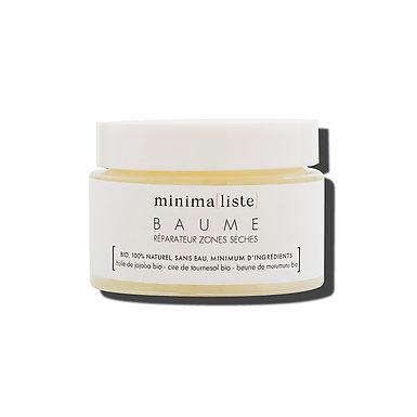 Baume réparateur zones sèches visage 50 ml - Minima[liste]