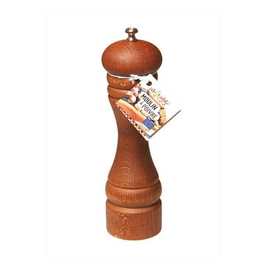 Moulin à poivre en bois et acier - grand modèle