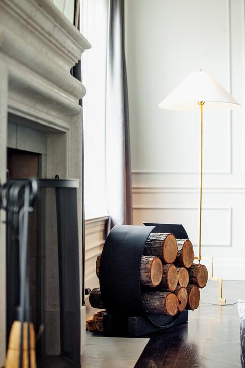 Custom Firewood Holder