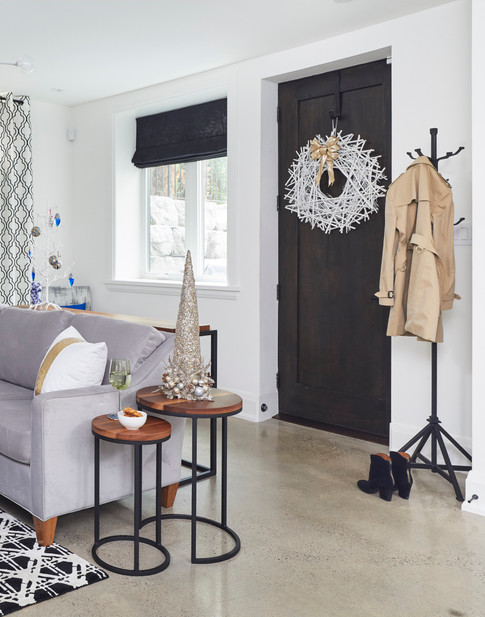 Nesting Tables and Coat Rack