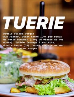 DoubleSwiss Burger