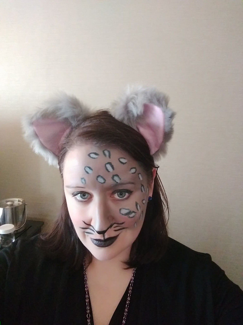I got to be a cat!