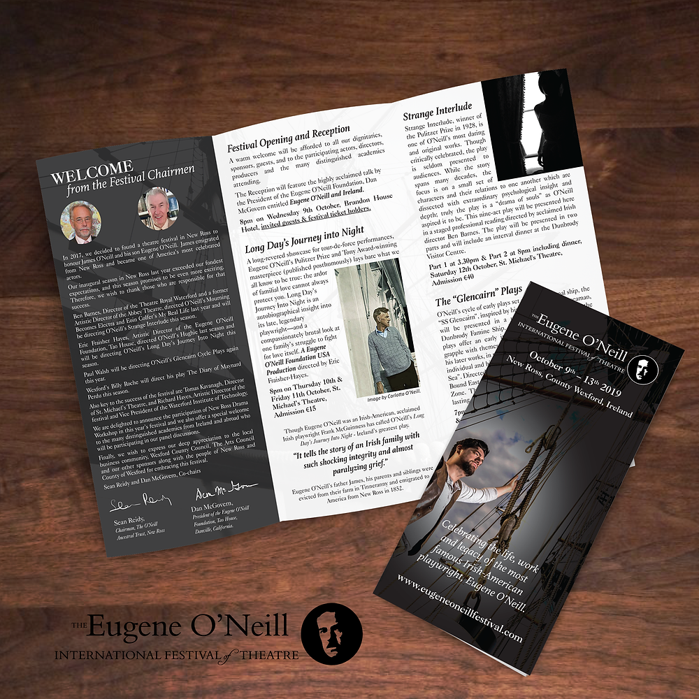 Eugene O'Neill Brochure Design