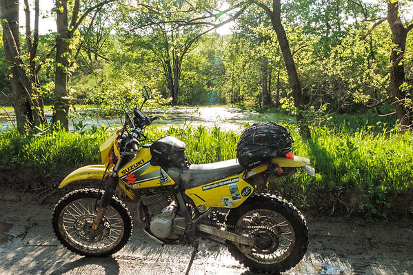 Dual sport motorcyle in Vermont