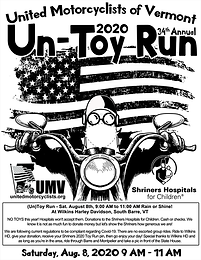 2020 UMV Toy Run Updated!