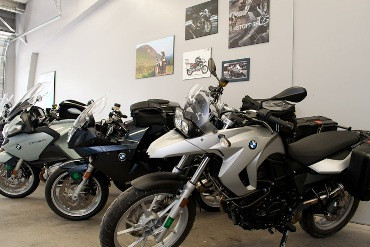 BMW's in the Moto Vermont rental fleet