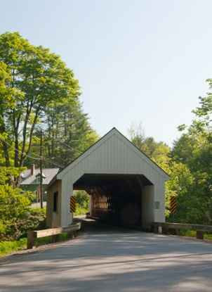 Covered Bridge on Dover Hill Road