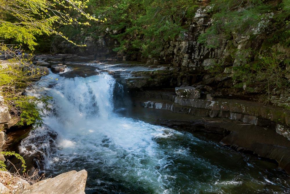 Bartlette Falls, Lincoln, VT