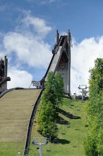 The 120-meter ski jump