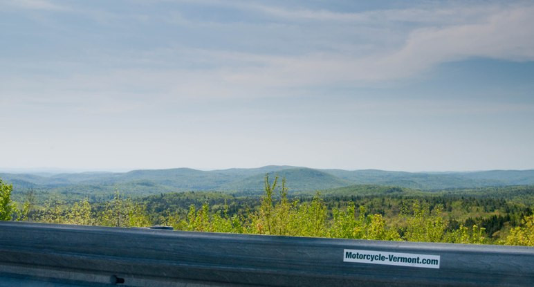 View from Hogback Mountain Overlook