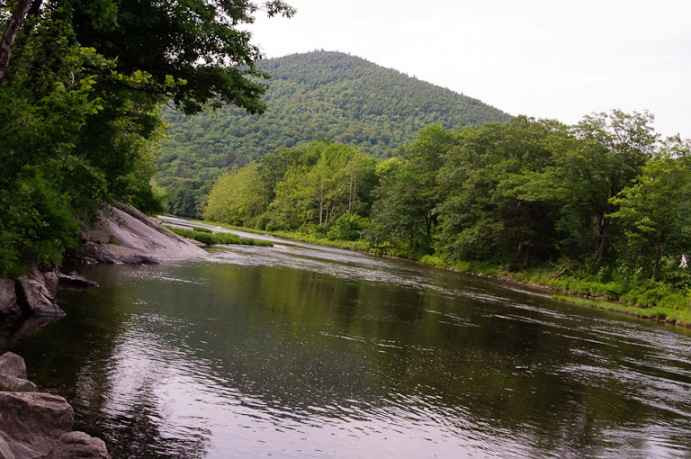 West River from Scott covered bridge