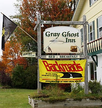 Motorcyclists welcome at the Gray Ghost