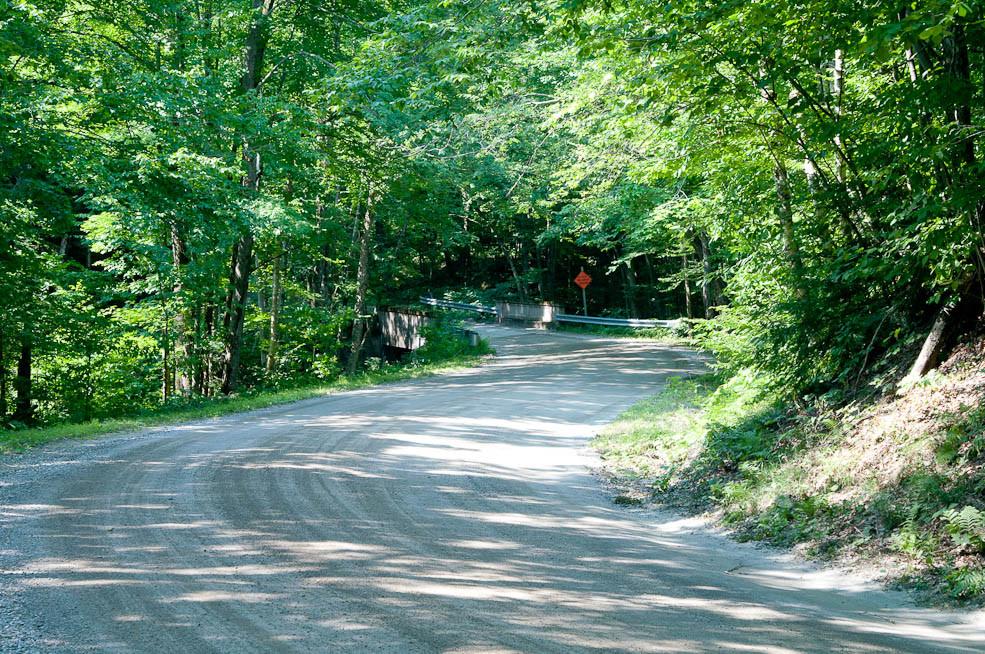 Hazen's Notch Road
