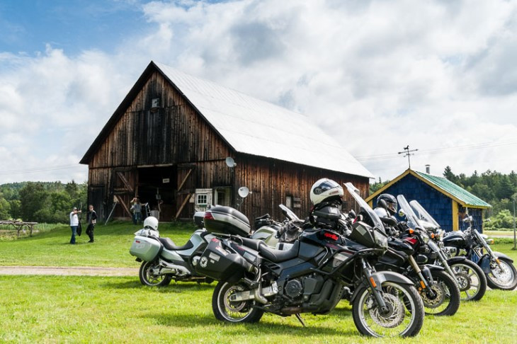 """Site of the 2014 """"Barn Pitch"""" in Lowell, VT. The 1860's era barn is owned by Patricia Sears and Steve Mason"""