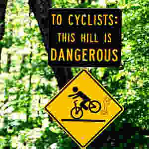 Warning on Lincoln Gap Road