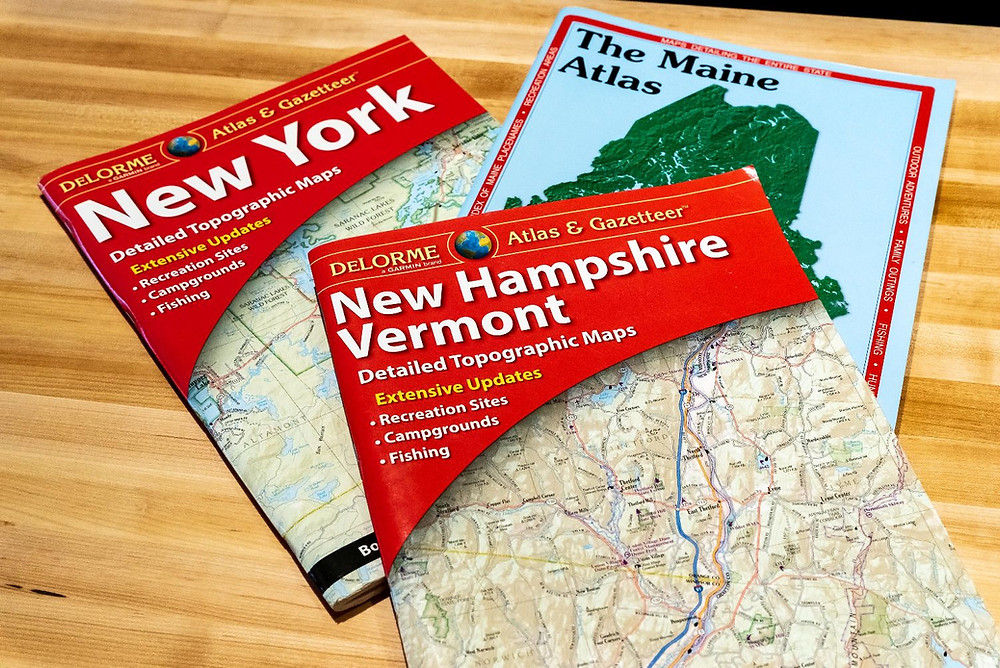 Gazetteers for the New England rider