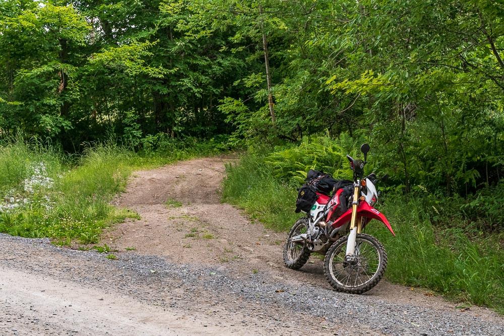 North entrance to Comigan Road