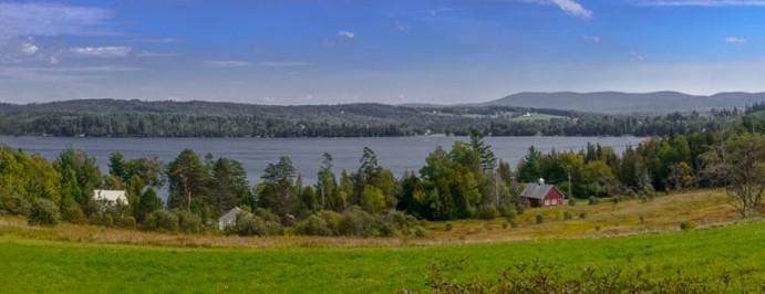 View of Caspain Lake, Vermont