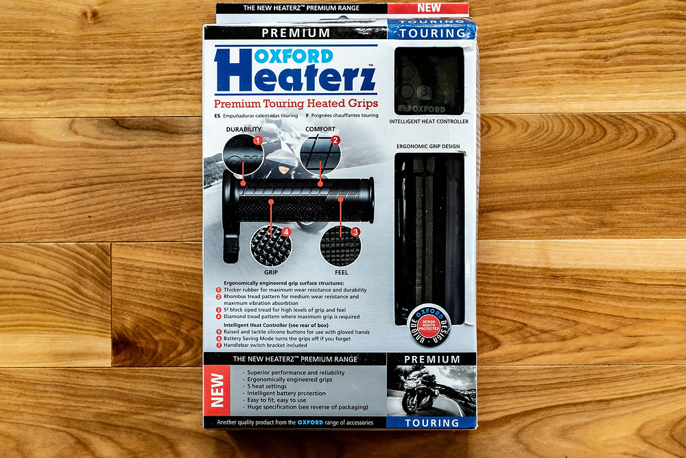 Oxford Heated Grips - Premium Touring Grips