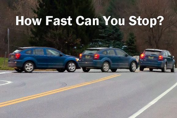 How to stop your motorcycle fast!