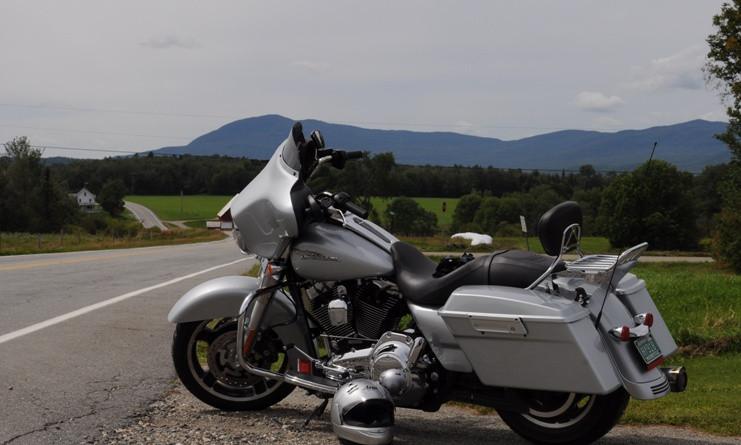 2009 Harley Street Glide on Vermont 58