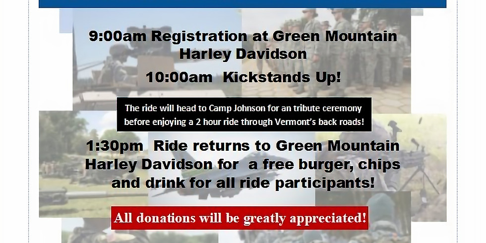 Vermont National Guard Charitable Foundation Ride