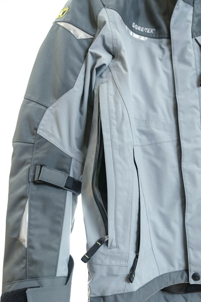 Klim Overland jacket front vent