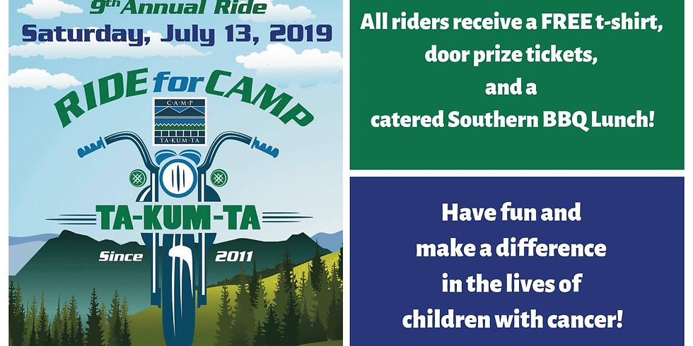 Ride for Camp Ta-Kum-Ta