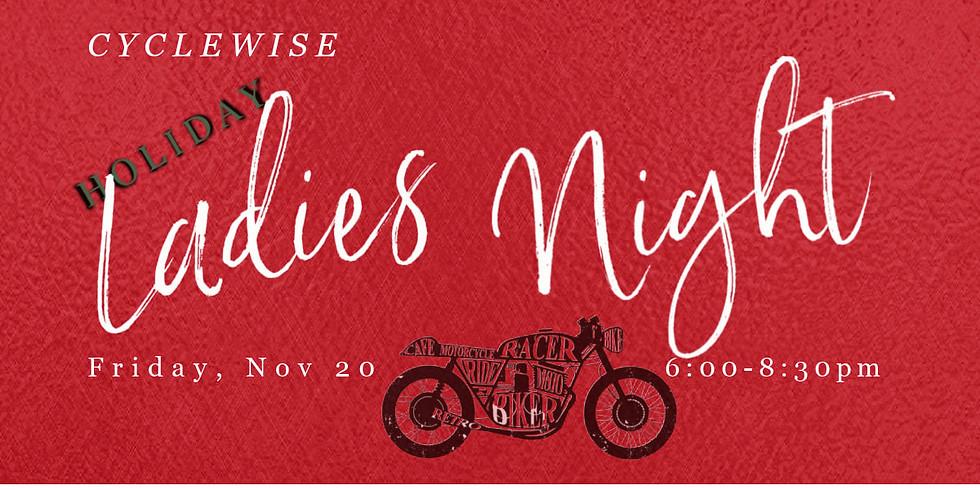 Cyclewise - Ladies Night!