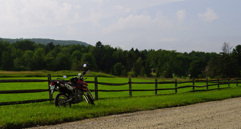 Dual Sport Ride to The Natural Turnpike