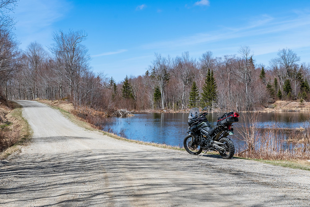 The Natural Turnpike, forest road 54 opened this past weekend