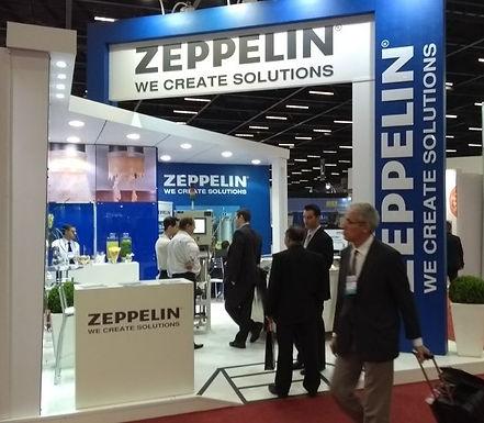 Fispal 2017 Zeppelin Systems, sucesso com TRACEMAT® e INTELLI-FILTER®