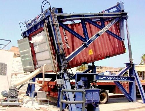 Reduza custos no manuseio de granéis secos usando o BULKTILTER®