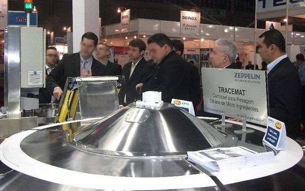Zeppelin Systems LA apresenta o TRACEMAT® sirtema inteligente de preparo de micro ingredientes