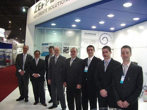 Zeppelin marca presença na feira Fispal Tecnologia 2013