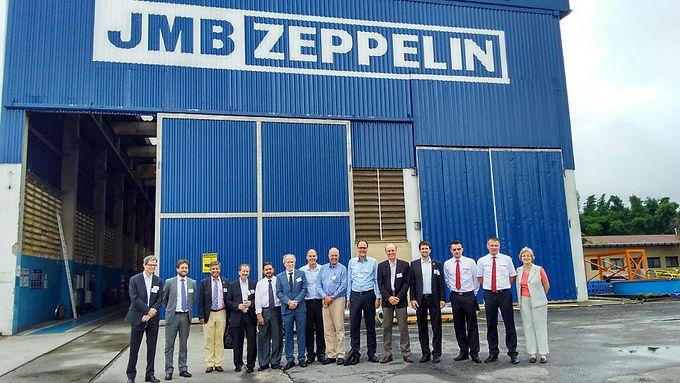 Zeppelin Systems Latin America recebe o encontro do grupo VDMA Máquinas de Plásticos e Borracha