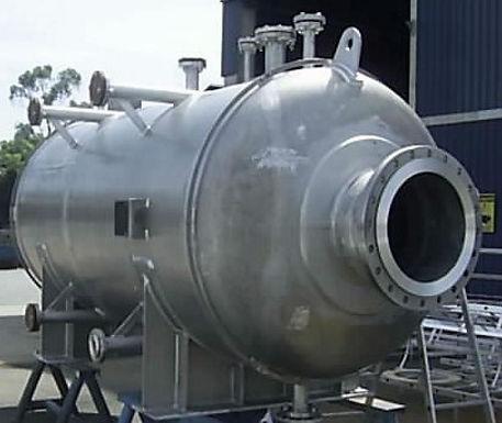 Zeppelin Systems fornece vaso de pressão para o projeto HDS - Petrobrás - UN REFAP/RS