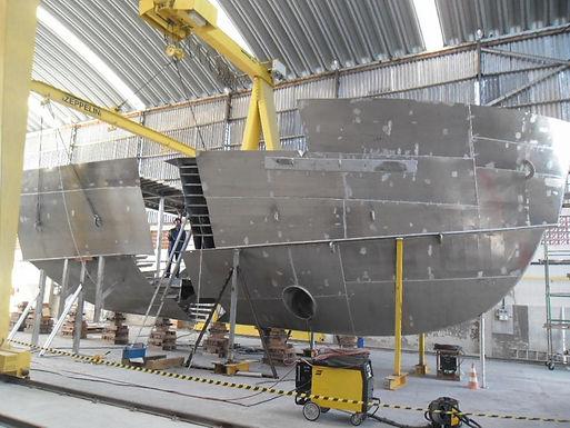 Zeppelin Systems Latin America fabrica estrutura de alumínio para navio de arpoador / Brasil Supply